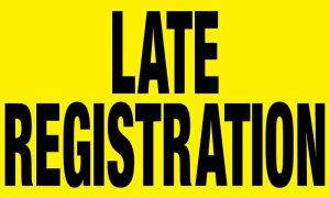 Late Registration